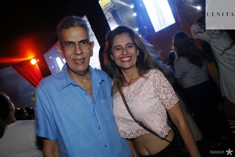 Savio Queiroz e Sandra Sampaio
