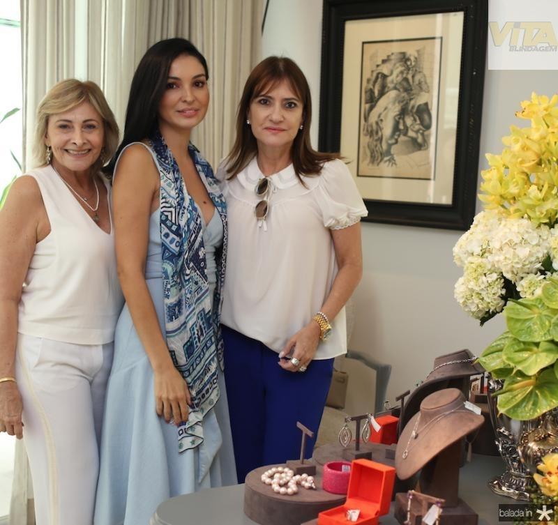 Rose, Ilka Franck e Pretinha Rolim