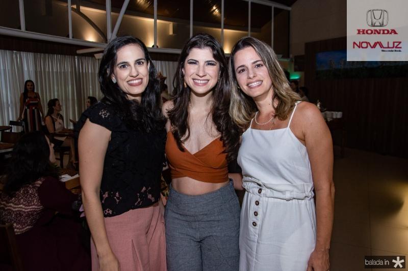 Nisse Aguiar, Themis Briand e Maira Chagas