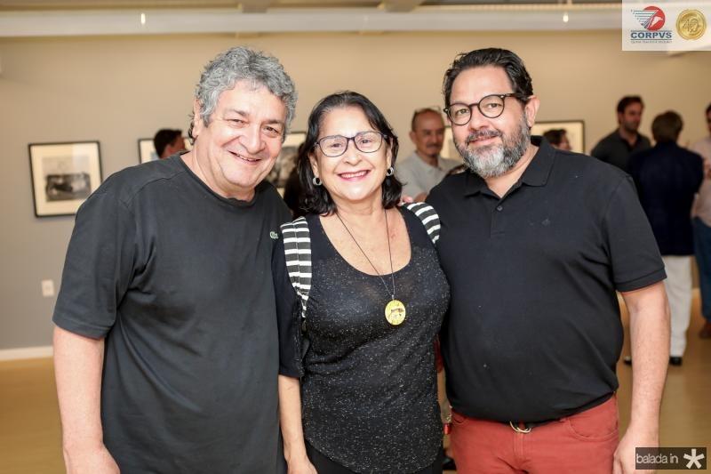 Celso Oliveira, Sheila Oliveira e Nicoles Gondim