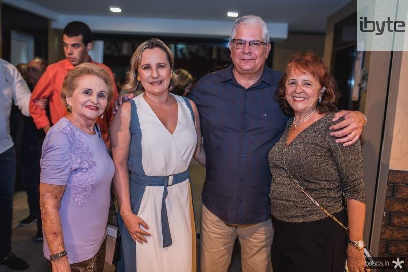 Marlene Cabral, Ana Ramalho, Fernando Ramalho e Fatiama Duarte