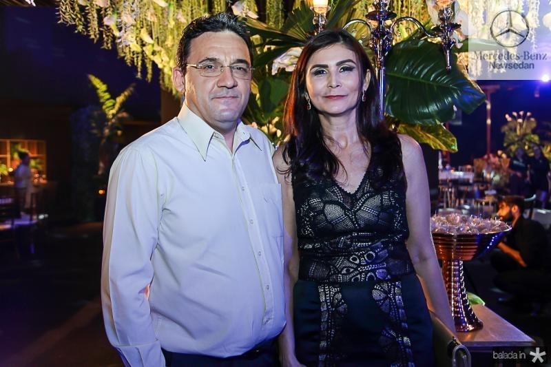 Luis Gonzaga e Cristina Freitas
