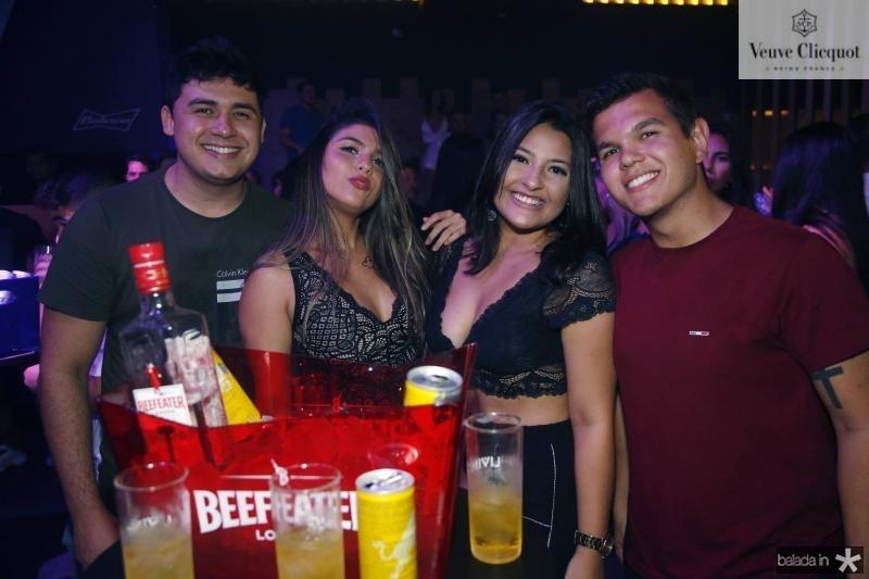Carlos Augusto, Rebeca Louise, Karla Jessica e Ismael Rodolfo