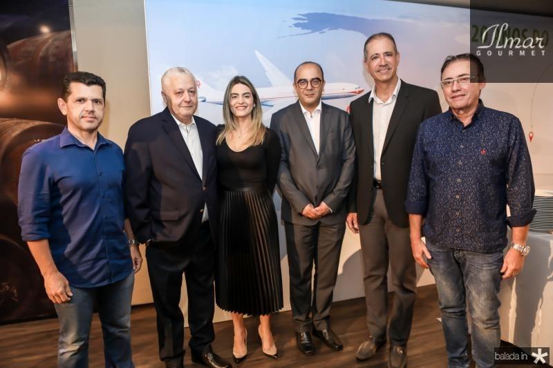 Erick Vasconcelos, Mario Carvalho, Denise Carra, Adriano Araujo, Regis Medeiros e Darlan Leite