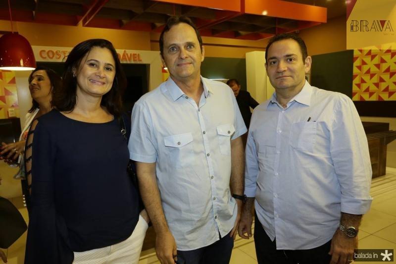 Adriana Accioly, Alexandre Fialho e Paulo Accioly