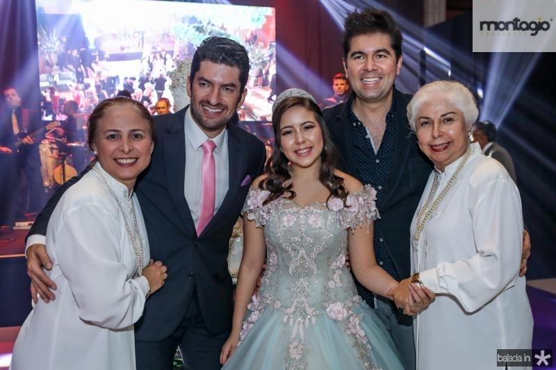 Samira Guimaraes, Paulo Jose, Juliana Jaco, Itaque Figueiredo e Alodia Guimaraes
