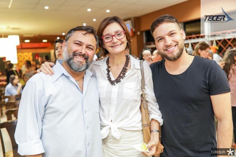 Joao Lima, Louise Benevides e Felipe Carvalho