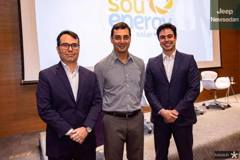 Marco Furtado, Luiz Miranda e Paulo Duarte
