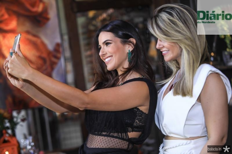 Milena Holanda e Natalia da Escossia