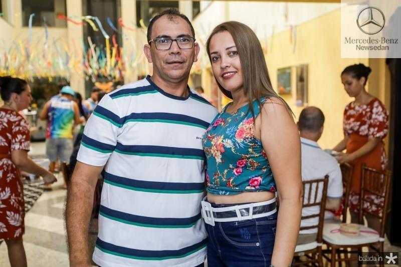 Damiao e Daiane Pereira