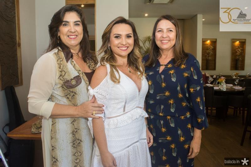 Isabeli Leitao, Socorro Medeiros e Aurea Cidrao