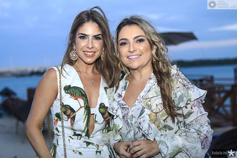 Rafaela Otoch e Valeria Feitosa