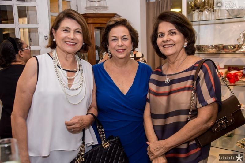 Valdizia Costa Sousa, Julia Gurjão e Leida Pessoa