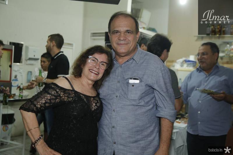 Eliane Miguel e Roberto Moreira