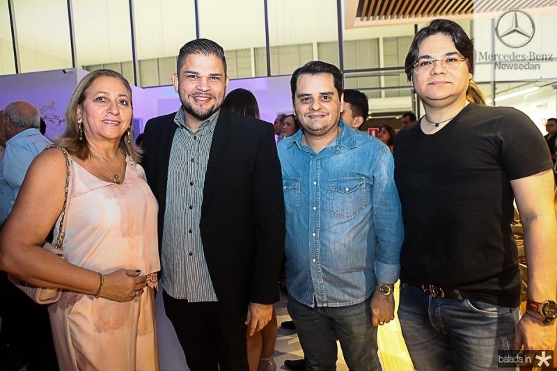 Amelia Lima, Marcos Bessa, Ricardo Alencar e Eglimar Pinto