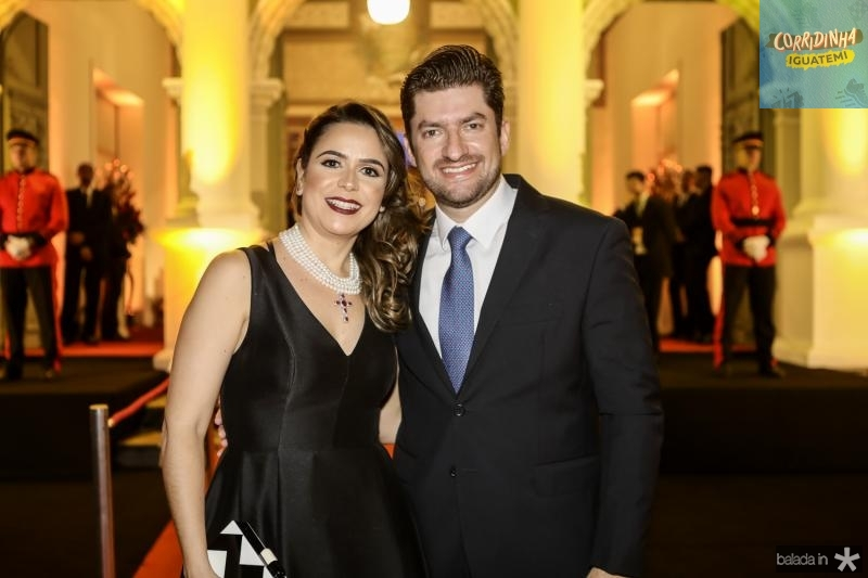 Camila e Paulo Jose Benevides