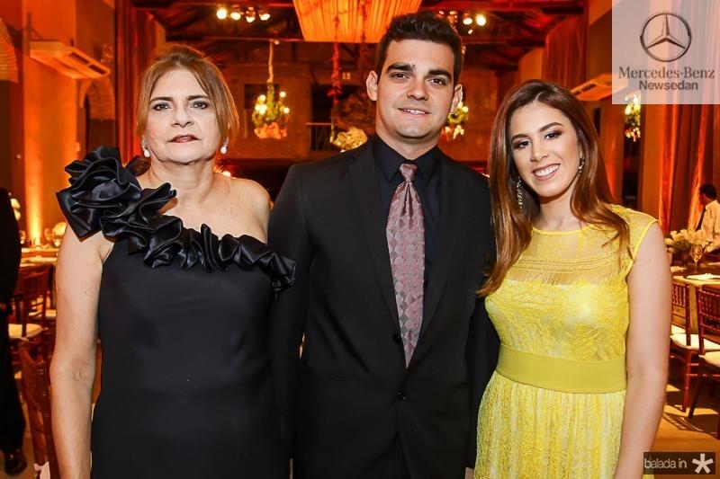 Neize Freire, Caio Freire e Lara Silva