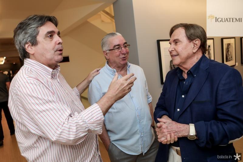 Totonho Laprovitera, Murilo Belchior e Lazaro Medeiros