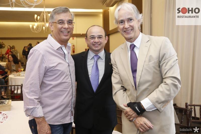 Cid Alves, Sergio Aguiar e Marcos Pompeu