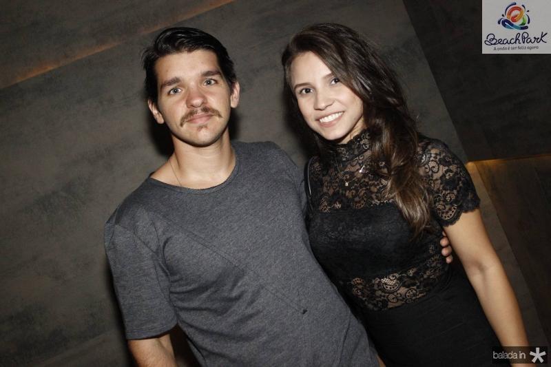 Leonardo Reboucas e Evelin Facanha