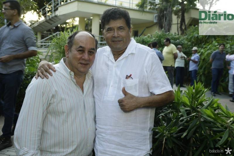 Marcos Teixeira e Carlos Alberto Mesquita