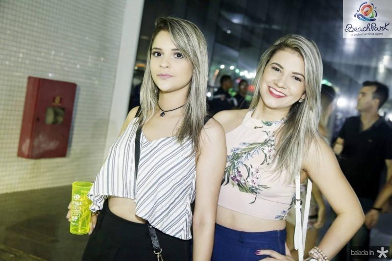 Luana Paixao e Ariene Saldanha