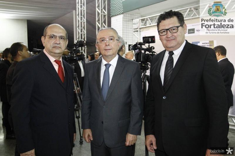 Ronaldo Costa, Antonio Jose Mello e Francisco Guerra