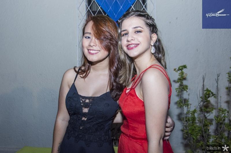 Aline Nery e Ster Sousa
