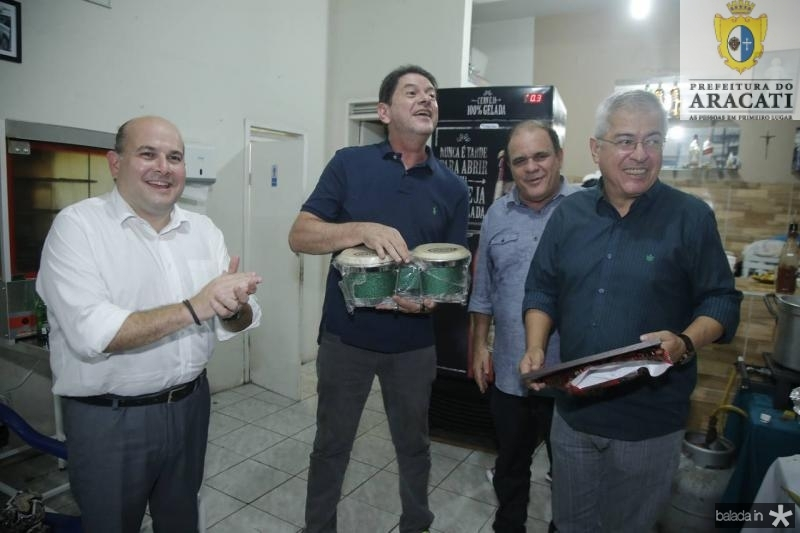 Roberto Claudio, Cid Gomes, Roberto Moreira e PC Noroes 3