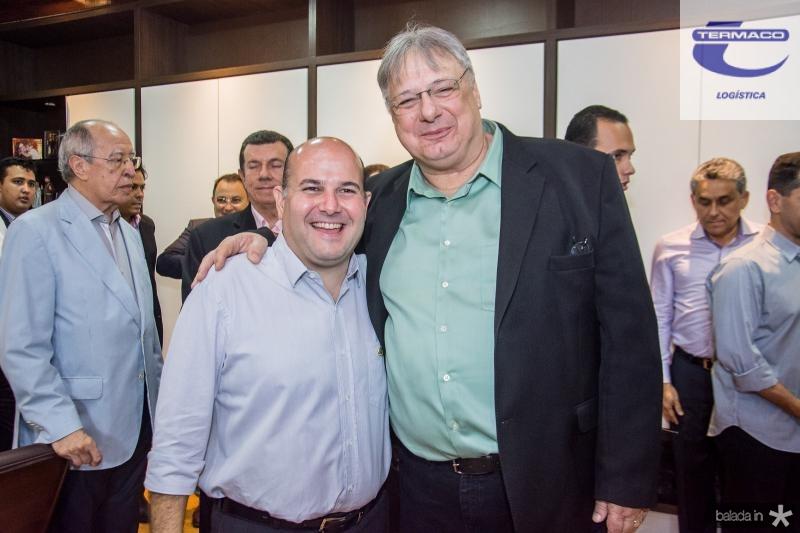 Roberto Claudio e Moroni Torgan