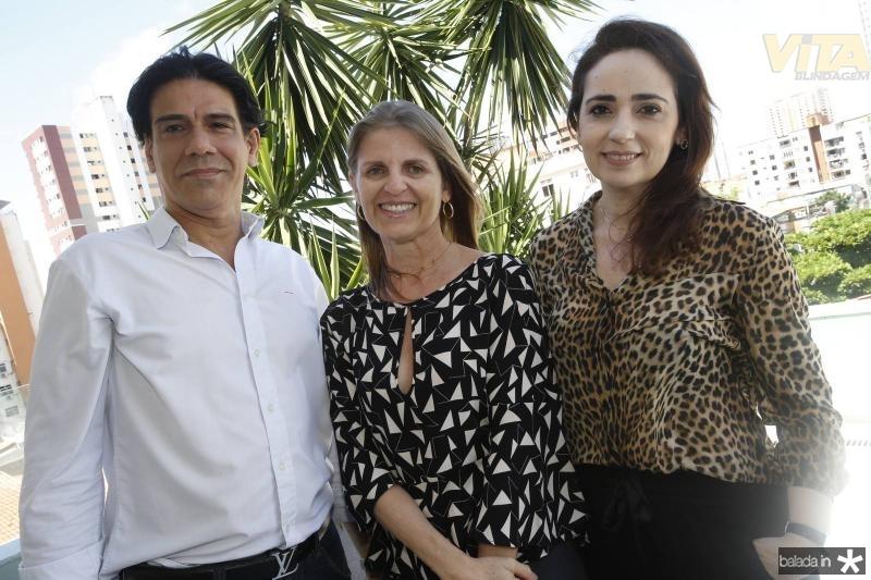 Wilson Loureiro, Nely de Cavalho e Isabel Fontenele