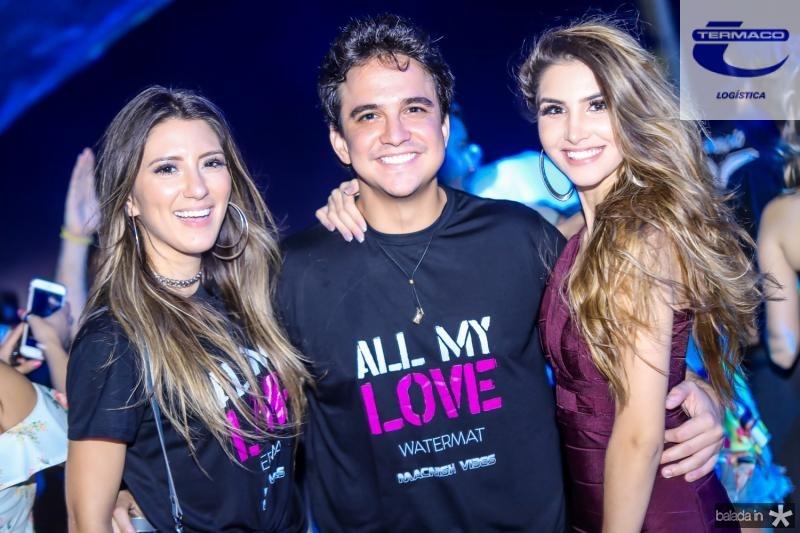 Andressa Maria, Panta Neto e Luiza Borges
