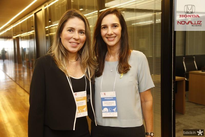 Agueda Muniz e Dalma Carvalho