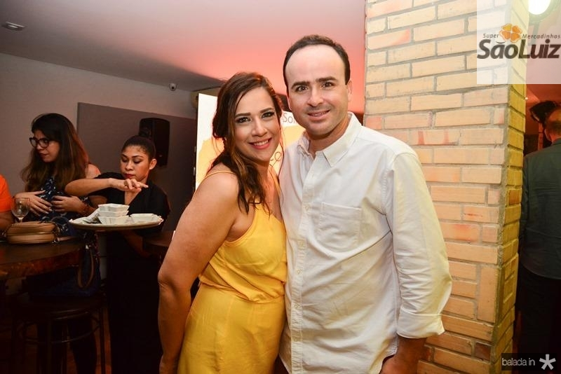 Lara e Pedro Fiuza