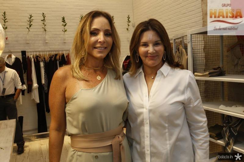 Ana Paula Daud e Fernanda matoso