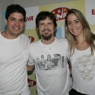 Vitor Sergio, Saulo Fernandes e Raquel Queiroz