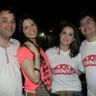 Enio e Renata Cabral, Eneida Rios e Renato Barboza
