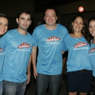 Viviane e Abelardo Rocha, Pedro e Larissa Coelho e Natalia Marques