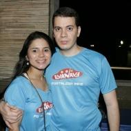 Fernanda Freire e Celso Junior