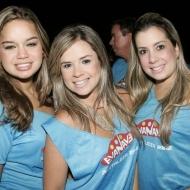Camila Tavares, Carol e Karine Borges