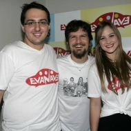 Adams Gomes, Saulo Fernandes e Larissa Banevides