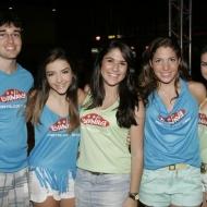 Leonardo Duarte, Renata pontes, Viviane Miranda, Ana Lima e Jessica Emily