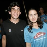 Gabriel Ribeiro e Amanda Campelo