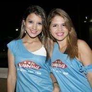 Deivila Alves e Helen Mesquita