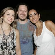 Ana Carolina, Paulinho Carvalho e Debora Luz