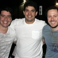 Rafael Bexzerril, Vitor Sergio e Paulinho Carvalho