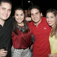 Fernando e Bruna Santos, Thiago e Samia Bayde