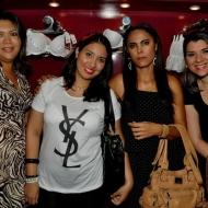 Maria Soares, Cec�lia Cesar, Fran Fontenele e Mariana Pontes