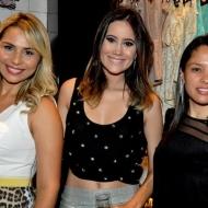 Graziele Nogueira, Karla Viana e Larissa Portela
