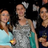 Patricia Fernandes, Cec�lia Costa e Graziele Cosme